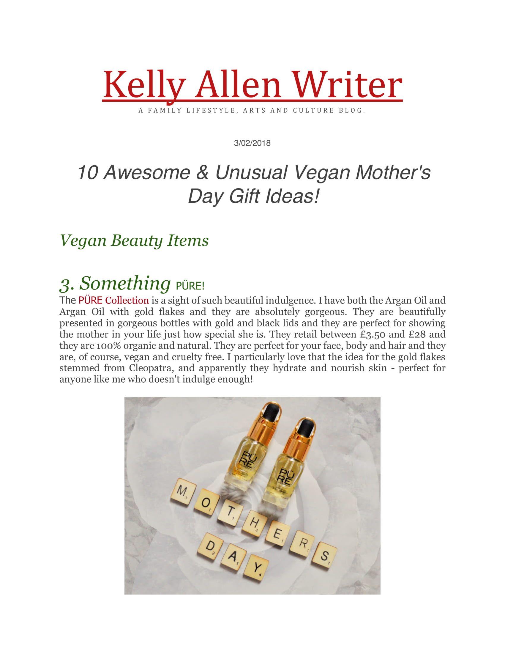 Kelly Allen Writer Blog