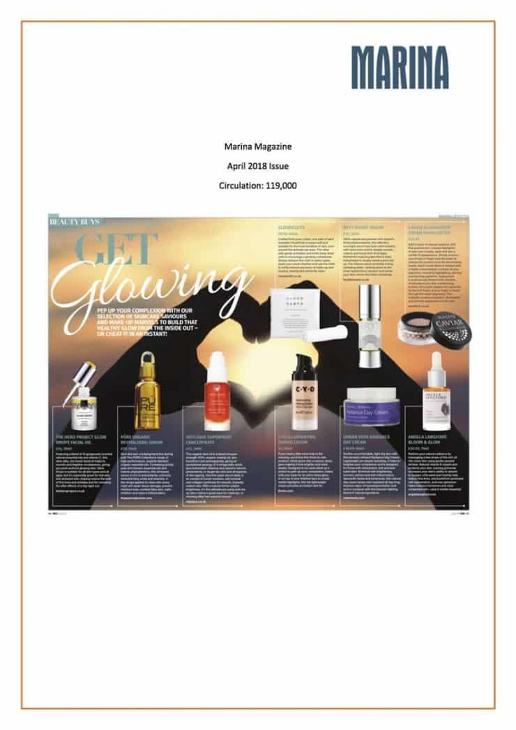 Marina Magazine, April 2018 Issue